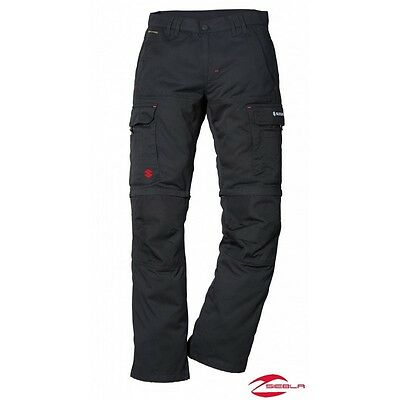 Suzuki Hose Original Team Zip Off Trousers Black  Gr.XXXL