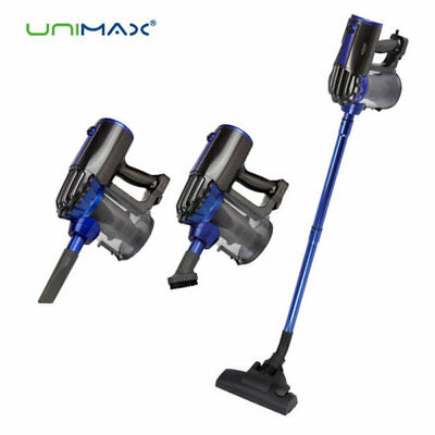 UNIMAX Turbo Handheld Vacuum Cleaner UVC-1685A Wired Cyclone Dual filter