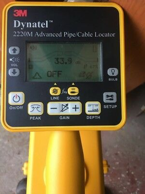 3M Dynatel 2220m Cable Pipe Fault Locator Cat Scan