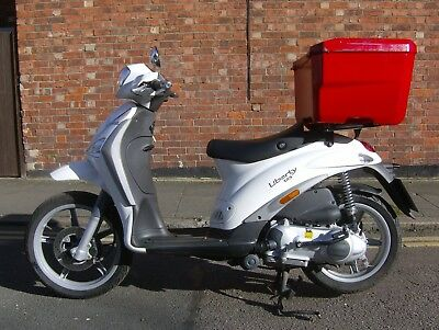 Piaggio Liberty 125 Delivery Scooter 2015 Only 2000 Miles Very Clean Scooter.