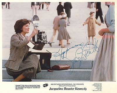 """Jaclyn Smith  """"jackie Kennedy"""" Autographe Dedicace Signed Photo Signiert"""