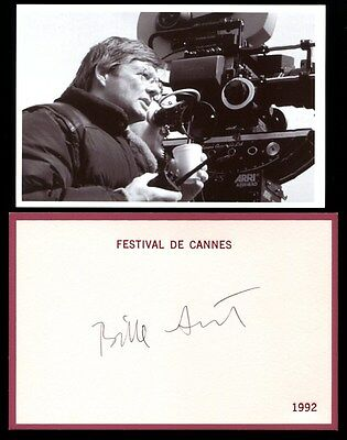 Autographe Bille August Dedicace - Signed - Signiert - Director