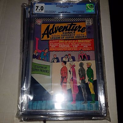 Adventure Comics #346, 1st Appearance of Karate Kid, CGC Graded 7.0, Silver Age