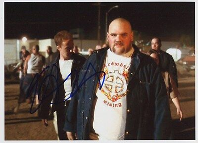 Rare Autographe Ethan Suplee Photo Dédicacée Signed Signiert American History X