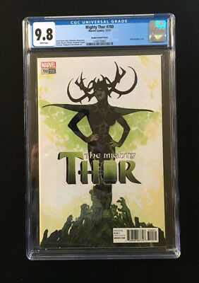 The Mighty Thor #700 1:100 Adam Hughes Variant CGC 9.8