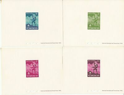 SG S99-102 1st National Scout Jamboree Set of 4 Deluxe Sheet