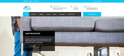 Fully Responsive Removals Company Website