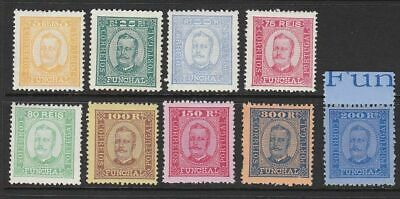 SG 85/107 9 values from a set of 12 MUH