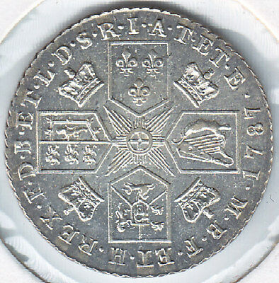 George III, silver shilling (S.3743) Brilliant, proof-like field