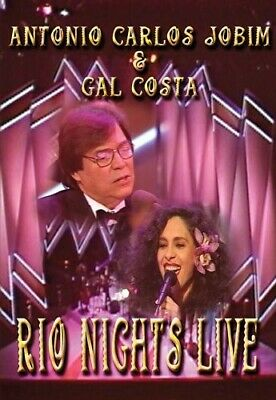 Antonio Carlos Jobim and Gal Costa: Rio Nights Live! (2006, DVD NUEVO (REGION 1)