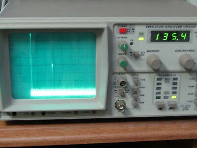 Hameg HM5006-3  Spectrum Analyzer with Tracking Generator Made in US