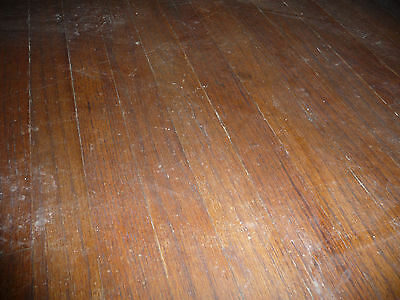 """Antique 1 1/2"""" Oak Flooring - C. 1905 Tongue and Groove Architectural Salvage"""