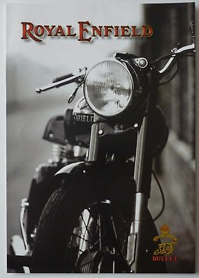 Royal Enfield Bullet 350cc and 500cc Range Sales Brochure
