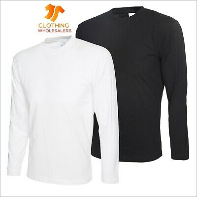 Unisex Men's Long Full Sleeve T-Shirt Casual Work Sports Leisure Tee T Shirt TOP
