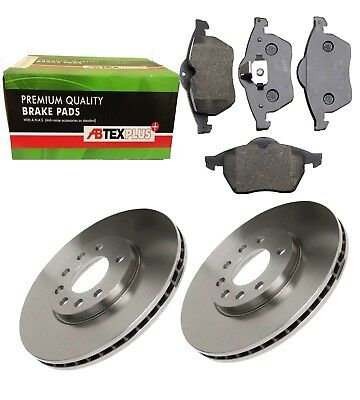 Front Vented Brake Discs Vauxhall Calibra 2.0i 16V Coupe 90-97 136HP 256mm