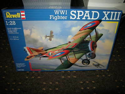 1:28 Revell WWI Fighter SPAD XIII Nr. 04730 OVP