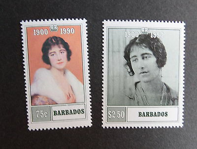 Barbados 1990 Queen Mother's 90th Birthday UM MNH unmounted mint