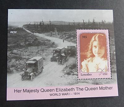 Lesotho  1990 Queen Mother's 90th Birthday MS miniature MNH UM unmounted mint