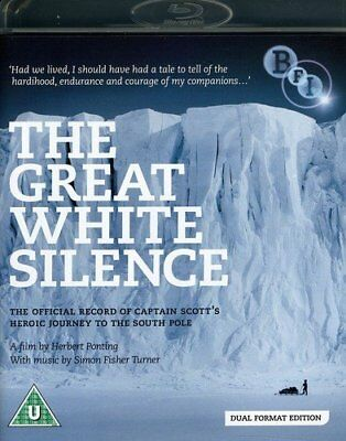 The Great White Silence / 90 Degrees South (DVD + Blu-ray) [1924] (Blu-ray)