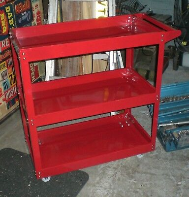 Tool Trolly Roll Storage Box Chest Tray Cab Cabinate Portable Mobile Workshop