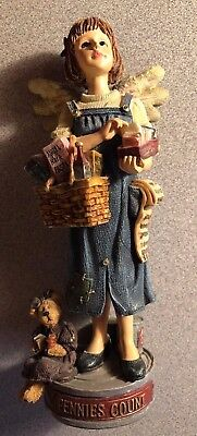 """1996 The Boyds Collection """"Caliope ClipsAlot Guardian Angel of Pennies"""""""