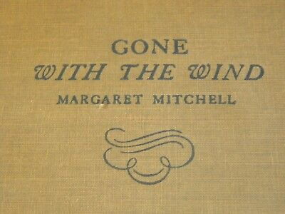"""""""Gone With the Wind"""" 1936 Margaret Mitchell Hard Cover First Edition November 19"""