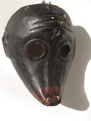 ANTIQUE MICO MONKEY DANCE MASK Guatemala