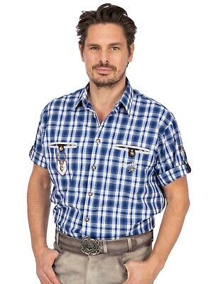 Orbis Traditional Shirt short Sleeve Eddie Blue