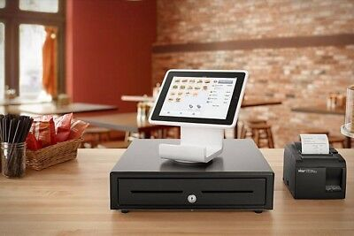 Square stand & Cashier And Printer