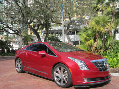2014 Cadillac ELR 2dr Coupe Florida One Owner 2014 Cadillac ELR Premium Electric Hybrid Luxury Coupe 85+ mpg