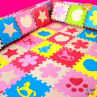 Play Foam Mat Puzzle Floor Kids Alphabet Tiles 10 And Eva Baby Numbers Abc Learn