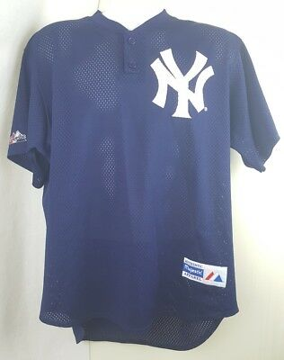 VINTAGE MAJESTIC NEW YORK YANKEES 1996 WORLD SERIES JERSEY XL Made in USA 98e60c835
