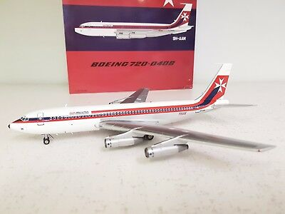 Boeing 720 Air Malta 9H-AAM Ref: ARD2045 a die-cast metal model in 1:200 scale
