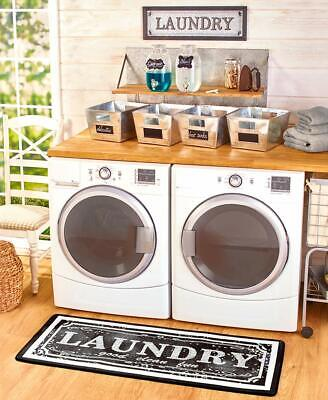 57 Laundry Room Rug Floor Mat Carpet Wash Day Clothes Line Runner