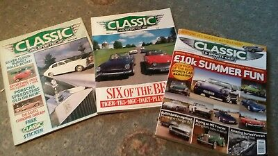 Classic & Sports Car Magazine Collection 197 issues between 1984 & 2013