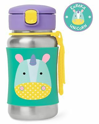 NEW Skip Hop Stainless Steel Straw Bottle from Baby Barn Discounts