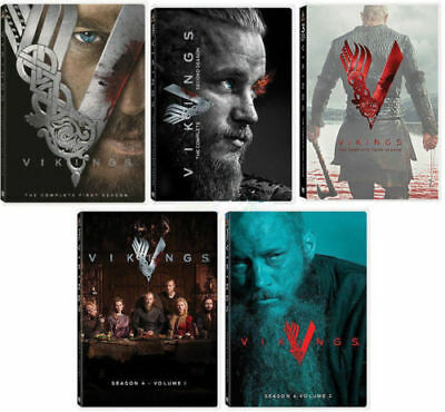 Vikings All Season 1-4 Complete DVD Set Series TV History Collection Episodes TV