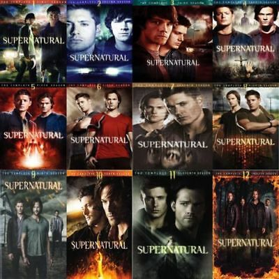 Supernatural Complete All Season 1-12 DVD Series Collection Video Episode Volume