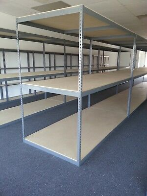 Boltless Warehouse Storage Shelving and Industrial Garage Storage Rack Local P/D