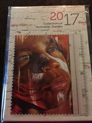 2017 Australia Annual Stamps Collection Book with Slipcase ( Without Stamp)