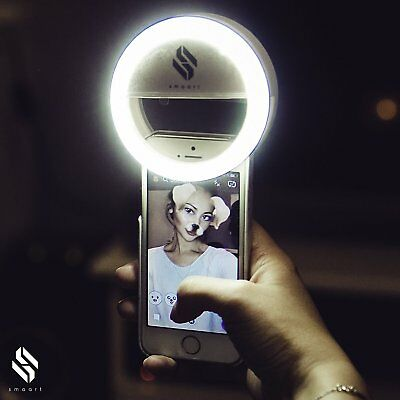 smaart Selfie Ring Light for all Mobile Phones | 2017 Version | 36 LED Lamps for