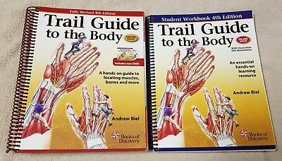 Trail guide to the body student workbook new cad 4344 picclick ca trail guide to the body hands on guide rev 4th ed andrew biel text fandeluxe Image collections