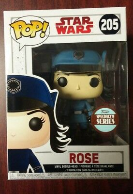 Funko POP! Star Wars The Last Jedi Rose Disguise Specialty Series #205