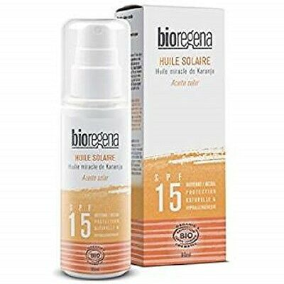 Aceite Solar Spray Spf15 Bio  Bioregena 90 Ml
