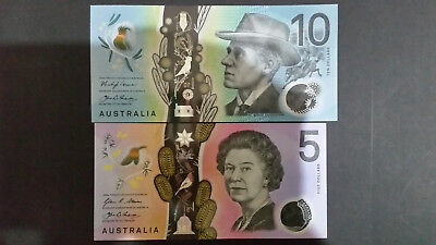 2016 $5 POLYMER BANK NOTE AUSTRALIA DOLLARS PREFIX DI UNCIRCULATED UNC NEW NOTE