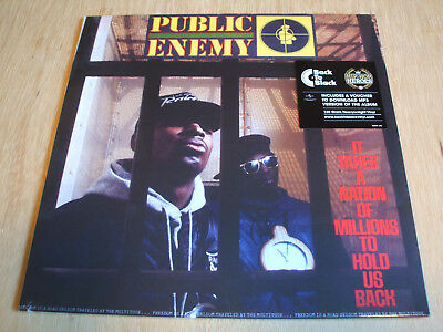 Public Enemy ‎– It Takes A Nation Of Millions To Hold Us Back vinyl lp reissue