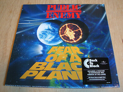 Public Enemy ‎– Fear Of A Black Planet reissue vinyl lp 180gram + download
