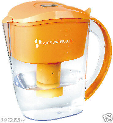 Alkaline Water Filter Jug with one free 7 stage filter. Optimal pH of water 3.5L