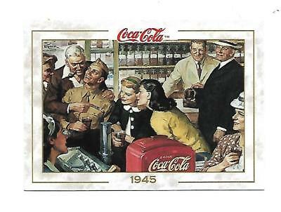 Coca Cola Collection (1993) 1945 # 48 Saul Teppe Artists Soldiers Hometown