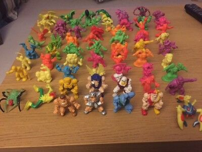 Monster in my Pocket Collection - 62 Figures from 1990's
